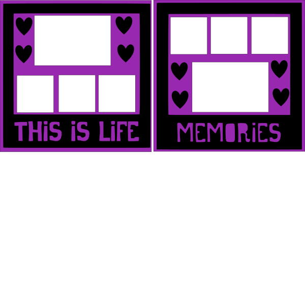 THIS IS LIFE/MEMORIES -basic page kit