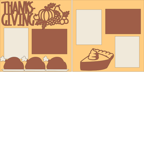 THANKSGIVING -basic page kit