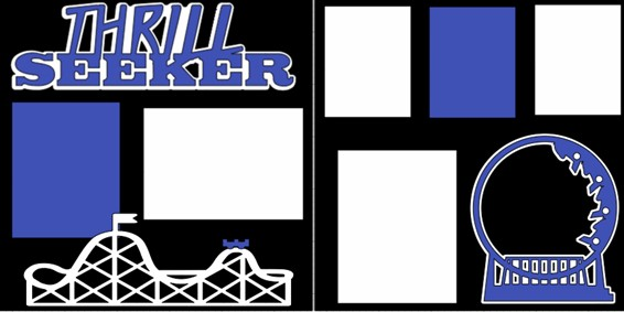 THRILL SEEKER  -  page kit