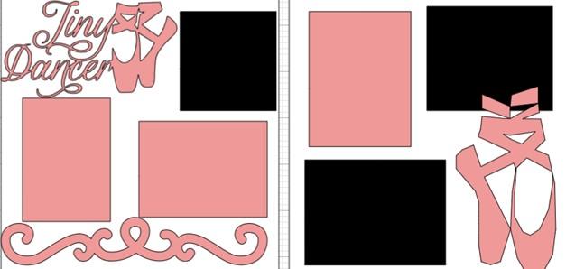 Tiny Dancer-  page kit