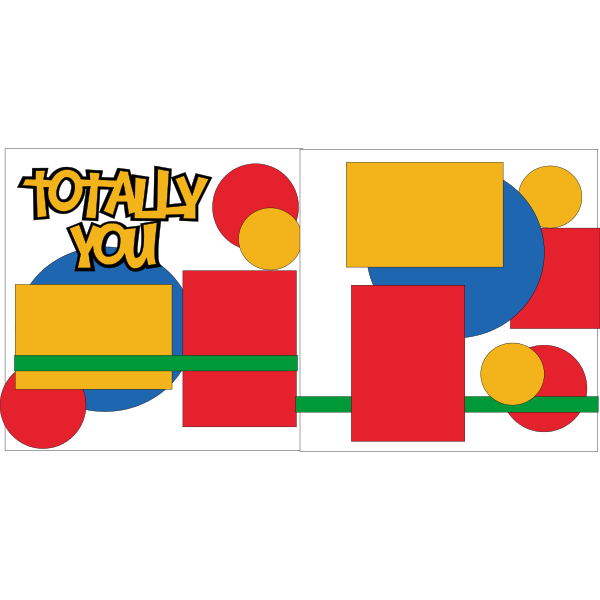 TOTALLY YOU -basic page kit