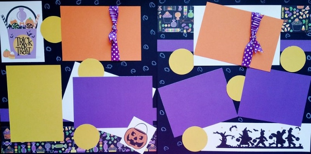 TRICK OR TREAT (CANDY BAG )   page kit