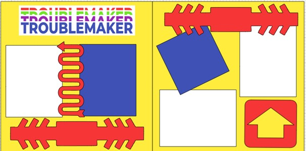 TrOUBLEMAKER  -  page kit