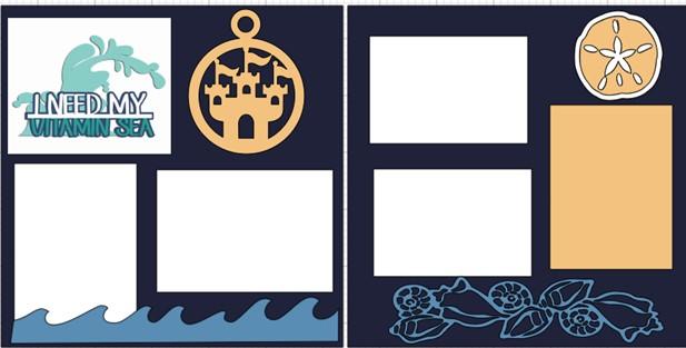 I NEED VITAMIN SEA  -  page kit