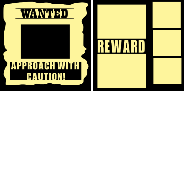 WANTED  -basic page kit