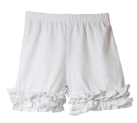 Ruffle Bottom Icing Boutique Shorts