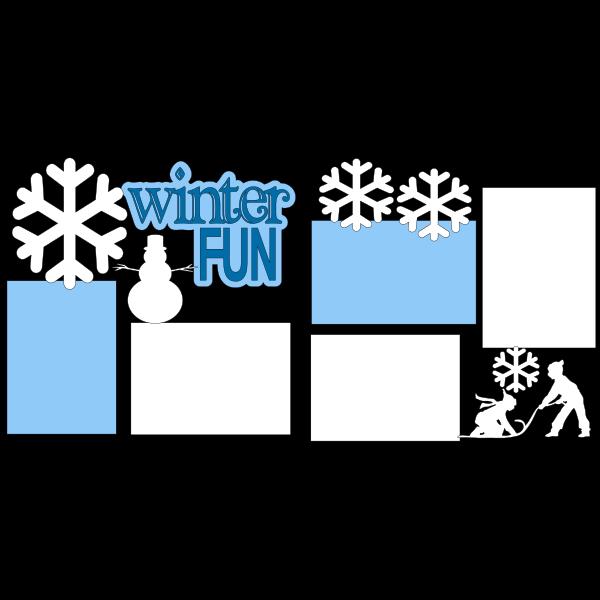 ***WINTER FUN***  -basic page kit