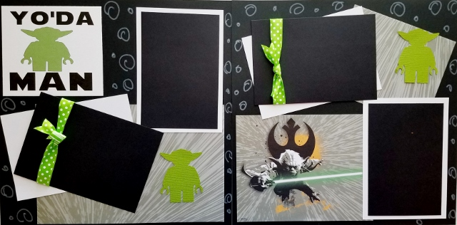 YODA MAN PREMADE PAGES
