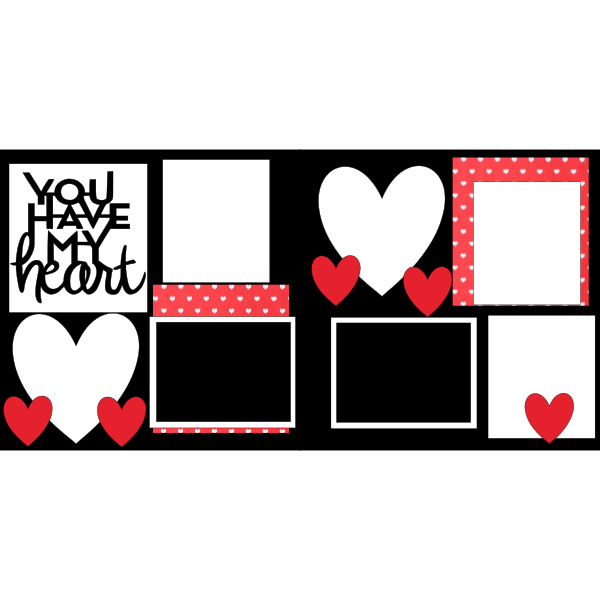 YOU HAVE MY HEART  -basic page kit
