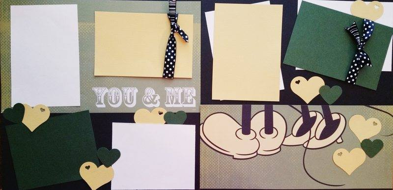 DISNEY YOU AND ME  page kit