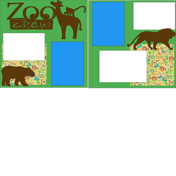 ZOO CREW  -basic page kit