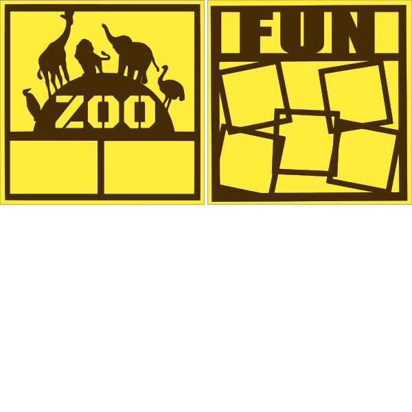 ZOO FUN (  -basic page kit