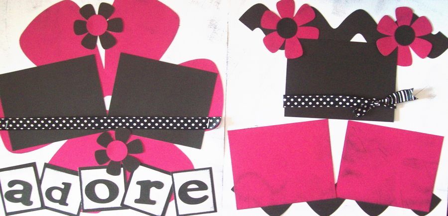 Adore Girl   - page kit
