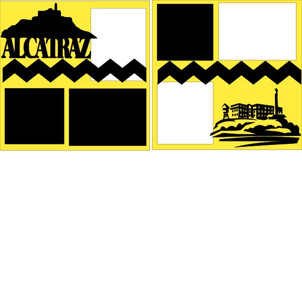 Alcatraz --  page kit