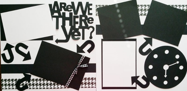 ARE WE THERE YET? TRAVEL   page kit