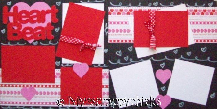 Baby's Heart Beat  Page Kit