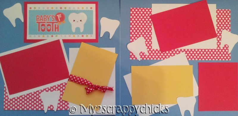 Baby's First Tooth NEW    --   Page Kit