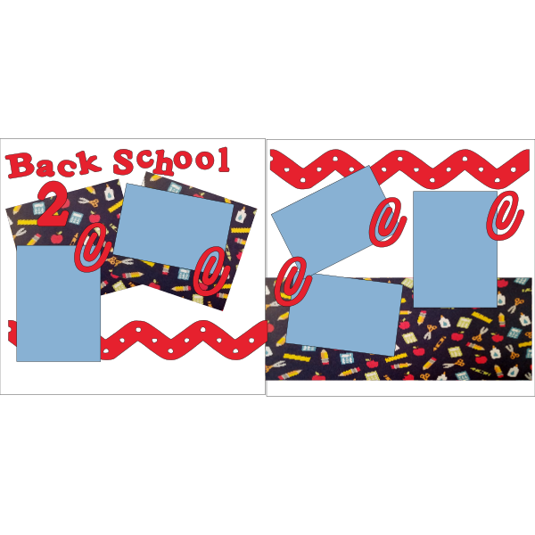 BACK 2 SCHOOL NEW -basic page kit
