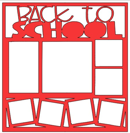 BACK TO SCHOOL OVERLAY     -  page kit