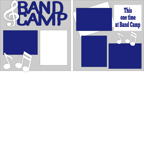 This one time at band camp (band) --  page kit