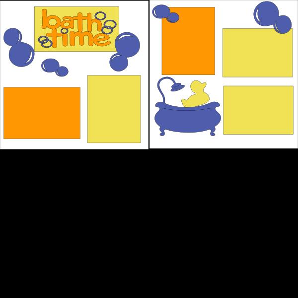 BATHTIME  --   page kit