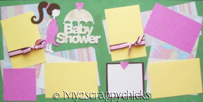 BABY SHOWER GIRL  page kit
