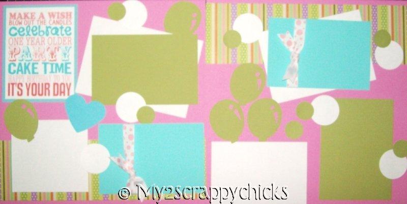 Birthday girl Generic **  - page kit