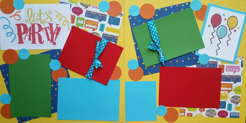 BIRTHDAY PARTY   page kit