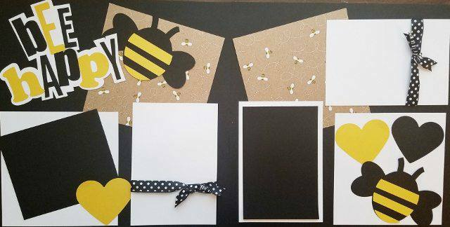 BEE HAPPY 2   page kit