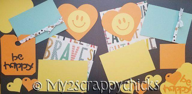 Be Happy  page kit