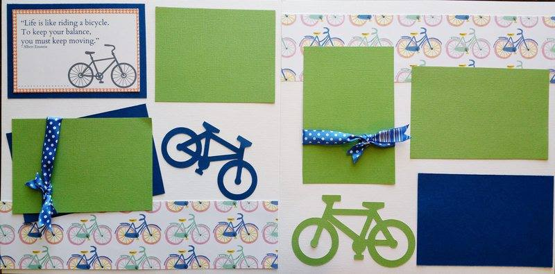 RIDING A BICYCLE  page kit