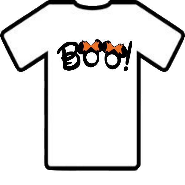 DISNEY BOO SHIRT