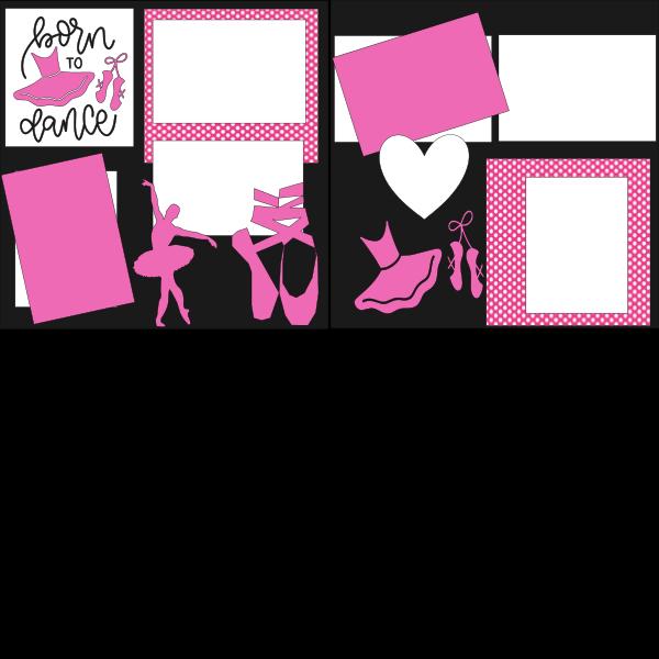 BORN TO DANCE **  -basic page kit