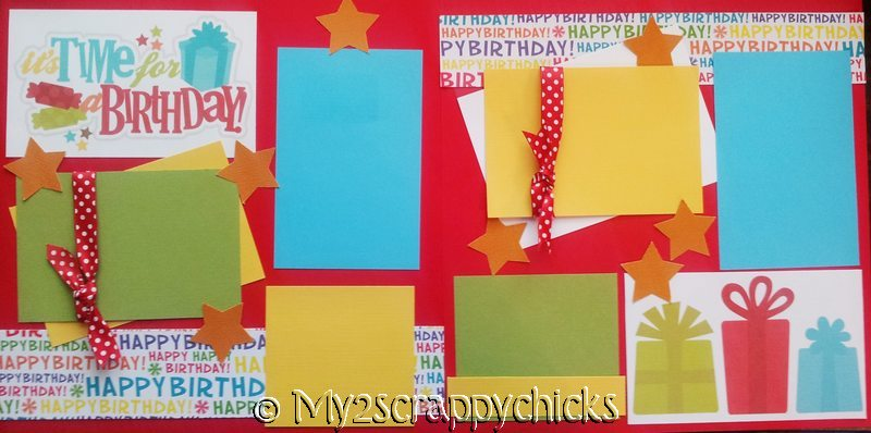 Birthday Celebrate  page kit