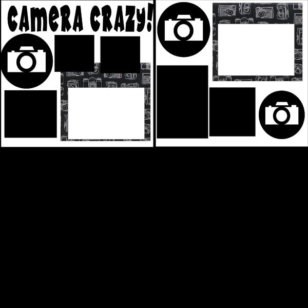 CAMERA CRAZY  ... Page Kit