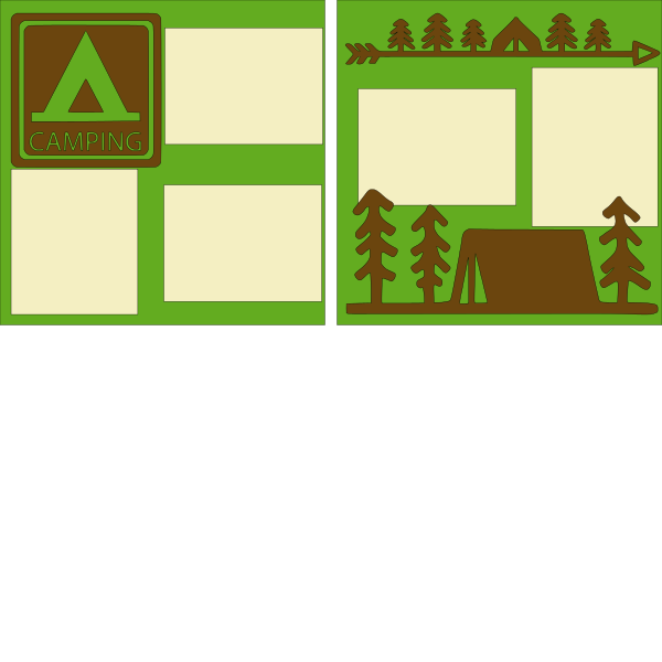 CAMPGROUND   - PAGE KIT