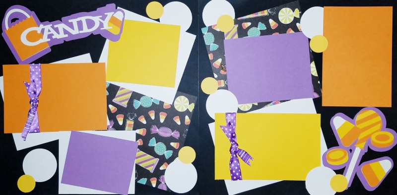 HALLOWEEN CANDY  page kit