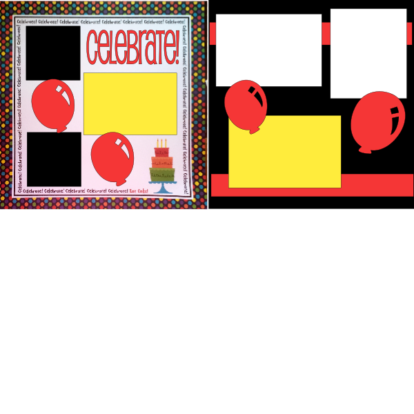 CELEBRATE BIRTHDAY -  page kit