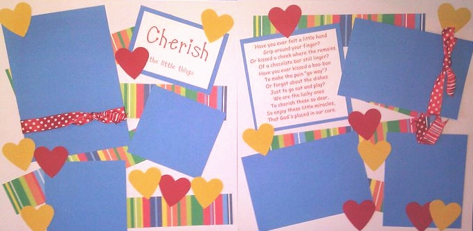 Cherish the Little things - Page Kit