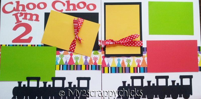 CHOO CHOO I'M 2  Page kit