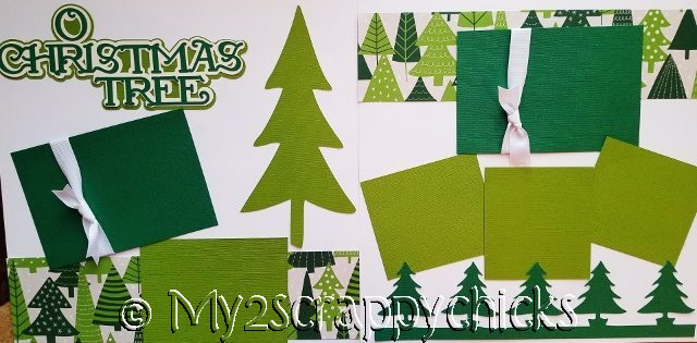 O'CHRISTMAS TREE ******  page kit