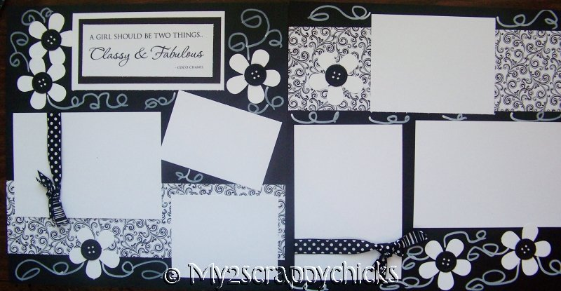 CLASSY AND FABULOUS page kit