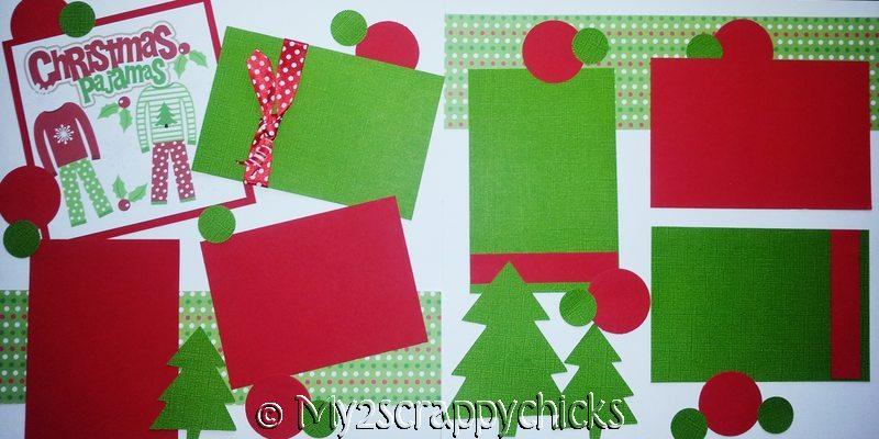 Christmas Pajamas   - page kit