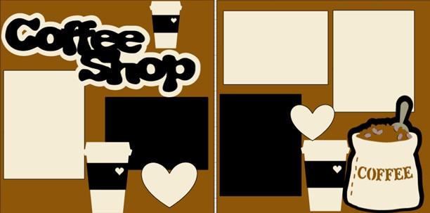 COFFEE SHOP  -  page kit