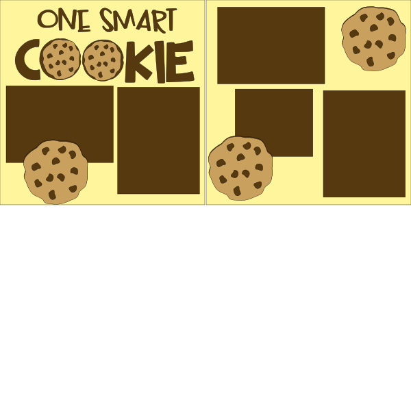 One Smart Cookie--  page kit