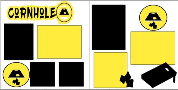 CORNHOLE  -  page kit