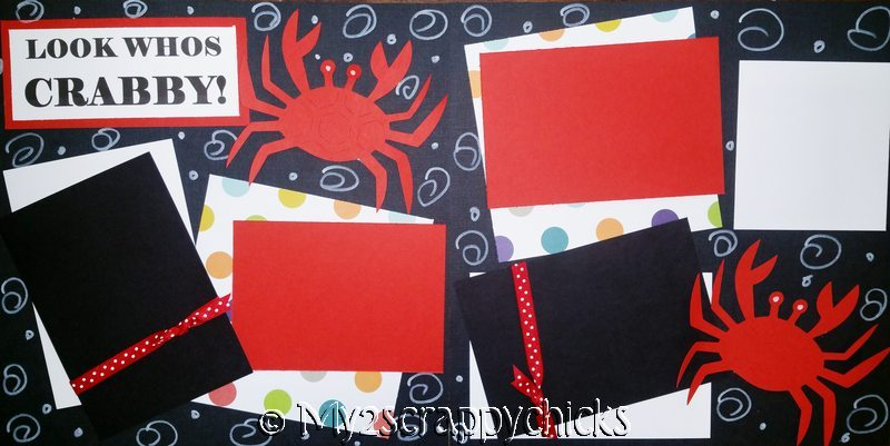 LOOK WHO'S CRABBY  page kit