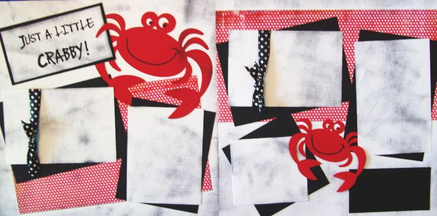 Just a little Crabby  page kit