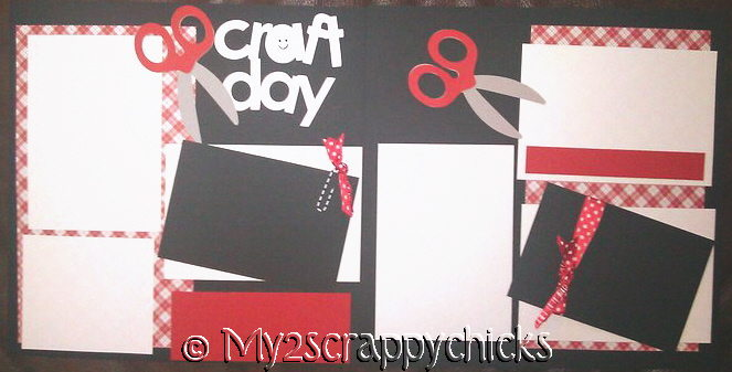 CRAFT DAY - page kit