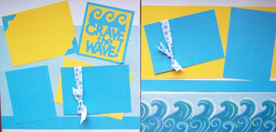 Crave the Wave   - page kit